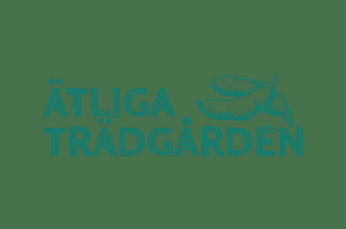 Grafisk profil med Logotyp till Ätliga Trädgården