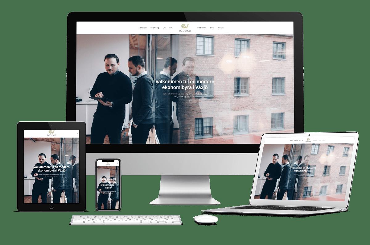 Webbplats till Ecovice