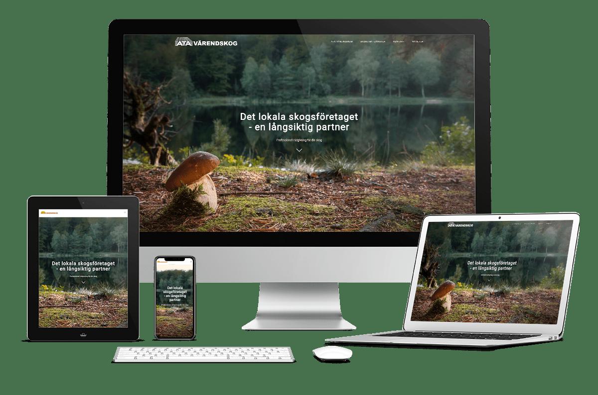 Digitalt Visitkort till Värendskog
