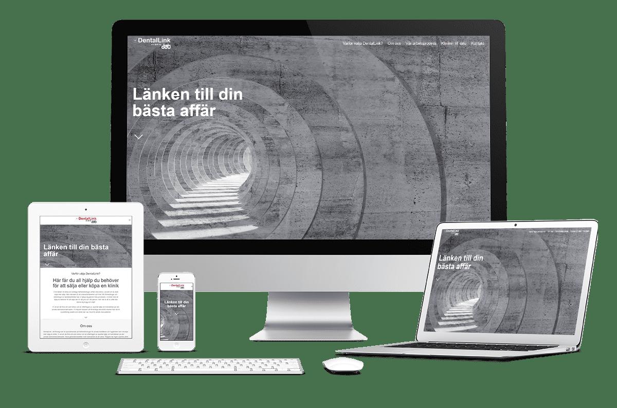 Digitalt visitkort till DentalLink