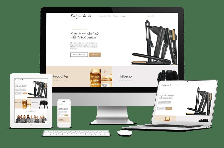 Ny webbplats till Kajsa & Co