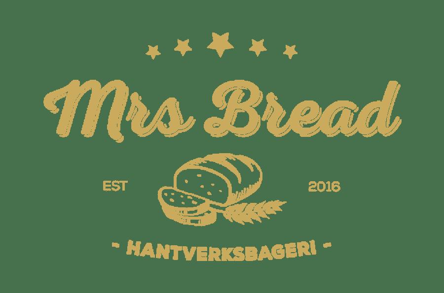 Grafisk profil och butiksmaterial till Mrs Bread