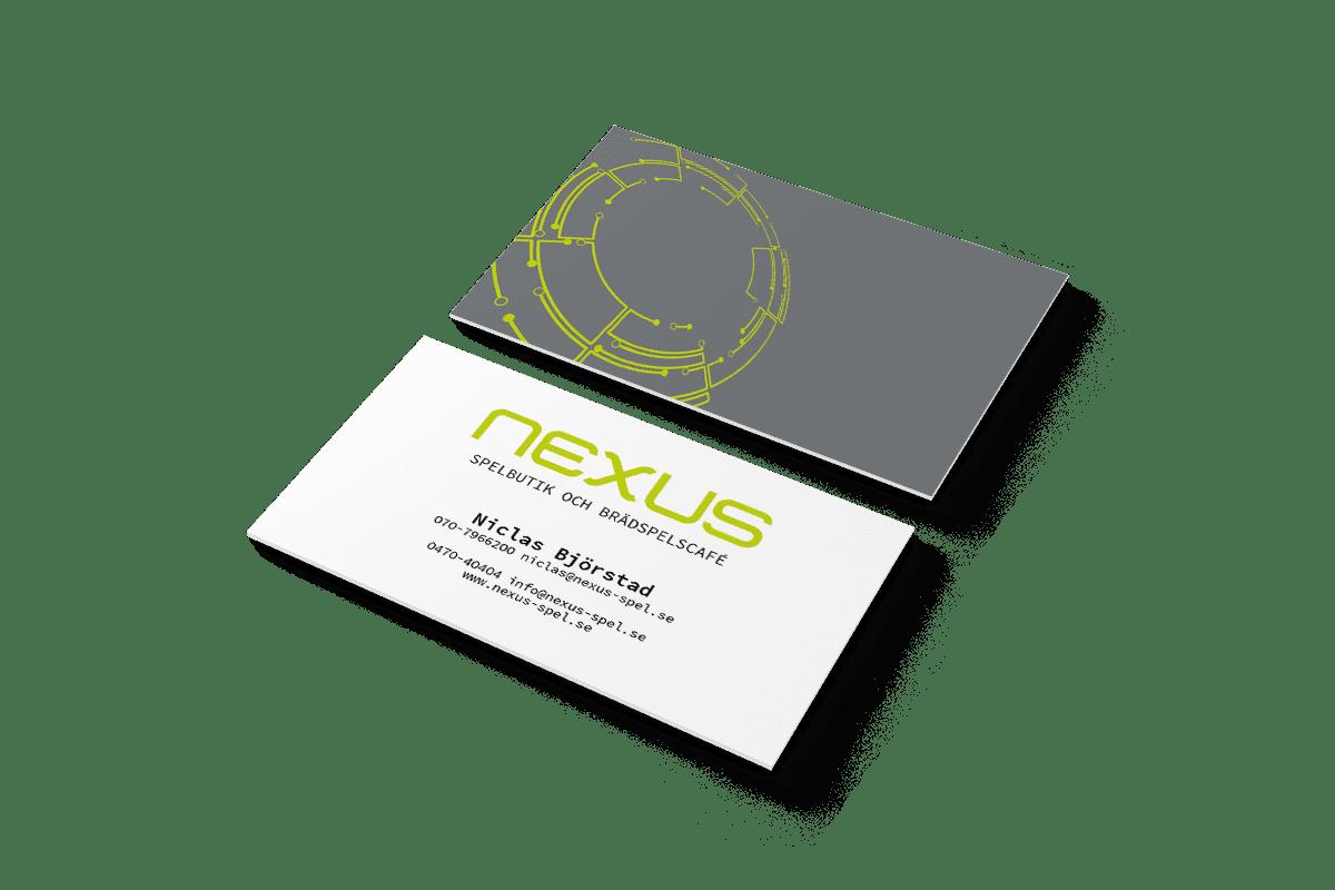 Tryck- och profilprodukter till Nexus